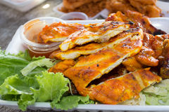 Chicken grilled. This photo  Chicken grilled are taken at Huahin beach Thailand Stock Image