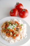 Chicken gumbo Stock Photography