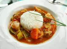 Chicken Gumbo Royalty Free Stock Photo