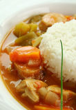 Chicken Gumbo Royalty Free Stock Photography