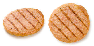 Chicken hamburger Royalty Free Stock Image