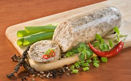 Chicken head cheese Stock Images