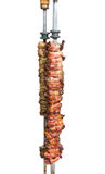 Chicken heart grill with Bacon, traditional Brazilian barbecue. Stock Image