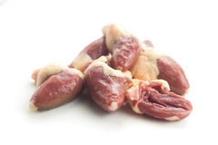 Chicken Hearts Stock Photography
