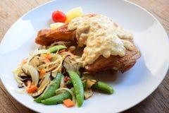 Chicken hip steak Stock Photo