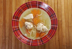 Chicken homemade  soup Royalty Free Stock Image