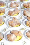 Chicken Hors d'oeuvres Royalty Free Stock Photography