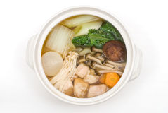 Chicken hot pot Royalty Free Stock Photo