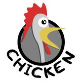 Chicken icon Stock Images