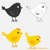 Chicken icon. Flat design, vector illustration, vector vector illustration