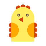 Chicken illustration Royalty Free Stock Images