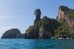 Chicken Island in Andaman sea Stock Image