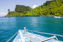 Chicken Island dive sites and in the Phi Phi islands thailand Royalty Free Stock Photo