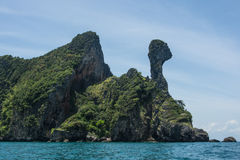 Chicken island. Is Island have shape like chicken in Andaman sea of Thailand Stock Photo