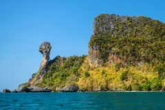 Chicken Island, Koh Kai Royalty Free Stock Image