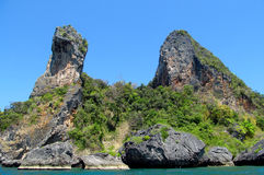 Chicken island Krabi Beaches and Islands Thailand Stock Image
