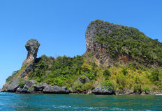 Chicken island Krabi Beaches and Islands Thailand Royalty Free Stock Photo