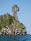 Chicken Island in Krabi, Thailand Stock Images