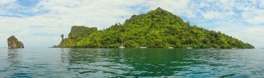 Chicken island near Krabi Thailand Stock Photo