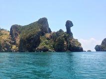 Chicken Island in Thailand. Chicken  island in Krabi Thailand Stock Photos