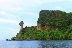 Chicken island of Thailand Stock Photography