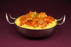 Chicken jalfrezi balti dish stock photography