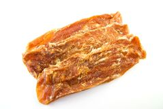 Chicken jerky - dog treats Royalty Free Stock Images