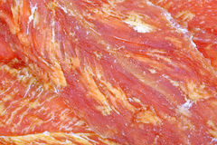Chicken Jerky up Close Stock Photography