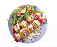 Chicken kabob Stock Photos