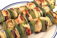Chicken Kabobs Stock Photo