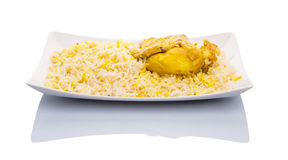 Chicken Kabsa I. Chicken Kabsa Rice, a popular traditional Middle Eastern cuisine Stock Images