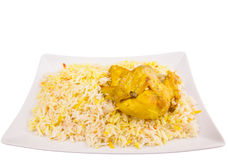 Chicken Kabsa II. Chicken Kabsa Rice, a popular traditional Middle Eastern cuisine Royalty Free Stock Image