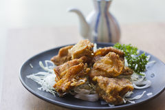 Chicken Karaage Royalty Free Stock Image