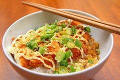 Chicken Katsu Don Stock Image