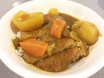 Chicken katsu Stock Image