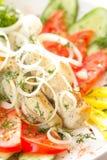 Chicken kebab Stock Photo