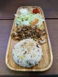 Chicken kebab royalty free stock photos