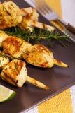 Chicken Kebab or Kabob Stock Photos