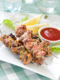 Chicken kebab Stock Image