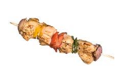 Chicken kebob Stock Images