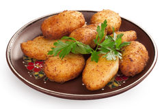Chicken Kiev cutlets Royalty Free Stock Photo
