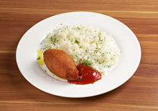 Chicken kiev Royalty Free Stock Image