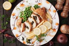 Chicken kiev Stock Image