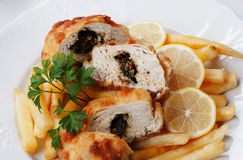 Chicken kiev Stock Photos