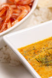 Chicken korma curry Stock Images