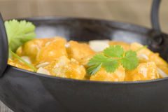 Chicken Korma. Chicken on a mildly spiced creamy sauce. Indian cuisine Stock Image