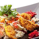 Chicken Korma Salad Stock Images