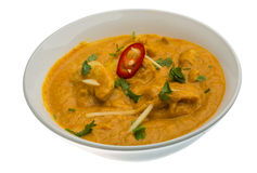 Chicken Korma. Traditional Indian cuisine Royalty Free Stock Photography