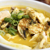 Chicken Laksa Royalty Free Stock Photo