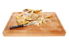 Chicken leftovers Royalty Free Stock Photography